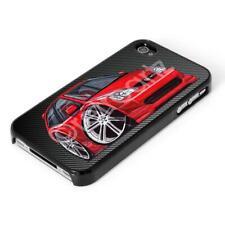 WickedArtz Cartoon Honda Civic Type R MK2 2002+ Red iPhone 4/5/6/6+ Case/Cover