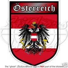 "Austria SCUDO Bundesadler OSTERREICH AUSTRIA 100 mm (4"") Adesivo Decalcomania"