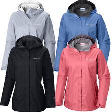 "New Womens Columbia ""Arcadia II"" Omni-Tech Waterproof Rain Jacket Plus Size"