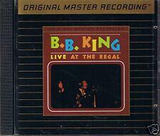King, B.B. Live at the étagère MFSL Gold CD udcd 548 uii sans J-Card