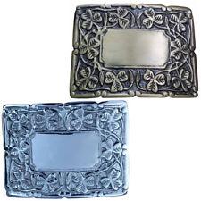 Deluxe Thistle Design Kilt Belt Buckle/Irish Shamrock Kilt Belt Buckles