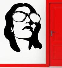 Wall Sticker Vinyl Decal Girl Teen Female In Sun Glasses Beach Sun Decor (z1078)