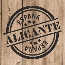 Vinilo de Corte Alicante Pegatina Alicante España 10 cm Adhesivo Pared Tablet