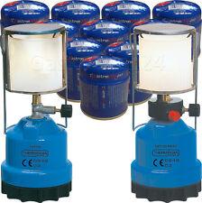 Gaslampe FKP100 oder Piezo Gaskartuschen Campinglampe Gaslaterne Outdoor Neu