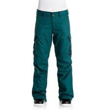 DC 17 ACE Womens Snow Pants Aqua Green