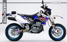 SUZUKI DRZ400S DRZ400SM DRZ400E 2000 2001 2018 MAXCROSS GRAPHICS FULL DECAL6 KIT