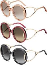 Chloe Jackson Women's Translucent Oversize Sunglasses CE703S - Made In Italy