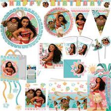 vaiana Cumpleaños Niños Niños Cumpleaños Fiesta Set decoracion Kit de fiesta
