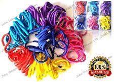 Coloured 15 Classic Thick Hair Elastics Bobbles Hair Bands Ponytail Hair Tie