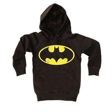 DC Comics - Batman Logo Pull-over - Sweatshirt à capuche pour enfant, noir
