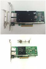 DELL Intel X540-T2 10 Gigabit 10GBe 10Gbit Dual Port Converged Server Adapter