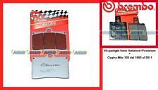 07BB15SC+ 07BB0135 Pasticche Freno Brembo Ant + Post Cagiva Mito 125  1993/2011