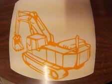 jcb mini diggers  excavator  logo decal  stickers&  &  fully Weatherproof