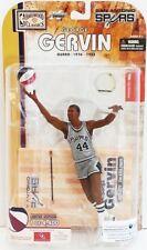 McFarlane NBA George Gervin (San Antonio Spurs) Exclusive ABA Silver Jersey
