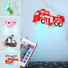 LED PLAFOND enfants lumière abeille auto calèche Bateau RGB fernbedienungd