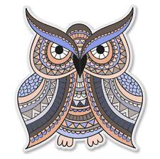 Cute Owls on a Branch Car Laptop Phone Vinyl Sticker SELECT SIZE