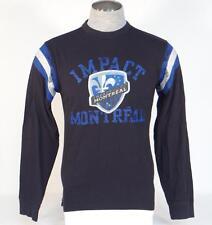 Adidas Originals Impact Montreal Black Vintage Long Sleeve Tee T Shirt Mens NWT
