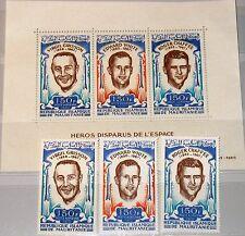 MAURITANIA MAURETANIEN 1970 411-13 Block 8 Death Astronauts White Grissom MNH