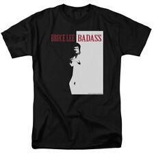 Bruce Lee Bad Ass Licensed Adult T Shirt