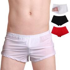 Eis Seide Boxer Short Unterhose Unterwäsche Herren Boxershorts Briefs Hipsters