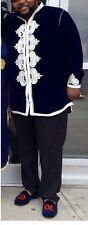 2017 unisex morocco velvet tunic