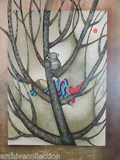 """Graciela Rodo Boulanger """"Un Koala Pour Sandra"""" Original Lithograph Artwork"""
