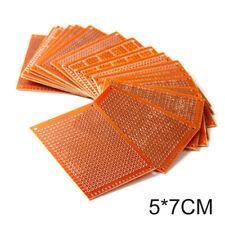 DIY 10/20Pcs Prototype Paper PCB Universal Matrix Circuit Board Breadboard 5*7cm