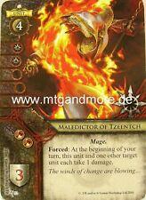Warhammer Invasion - 1x Maledictor of Tzeentch  #052