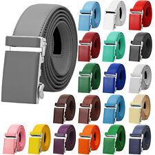 Falari Men Unisex Classic Ratchet Dress Belt Genuine Leather Casual Golf Belt