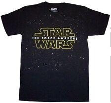 LICENSED STAR WARS The Force Awakens TFA galaxy field t-shirt S M-XL