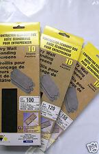 Drywall Sanding Screens, 10 Sheets per Box, SIA, Lot of 8 Boxes-You Choose Grit