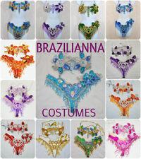 BRAZILIAN carnival SAMBA BIKINI Belly dance WAISTBAND BRA CABARET dance COSTUME