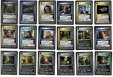 Star Trek CCG The Borg Rare Cards Part 3/3 Dual Affiliation Rare +