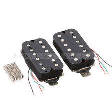 Humbucker Pickup Set Alnico 5 Magnet Copper-Nickel Base for Electric Guitar