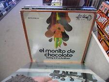 Sunny & The Sunliners El Monito De Chocolate LP Key Loc Records VG+ IN Shrink