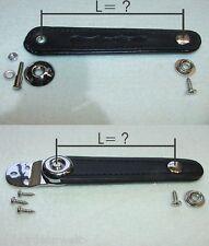 Supporto soffietto, soffietto cinghie, FISARMONICA SOFFIETTO RICAMBI accordion Bellows straps, Black