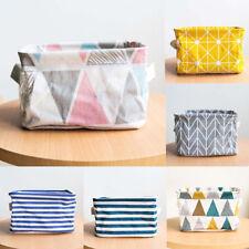 Foldable Storage Bin Closet Toy Cloth Box Container Organizer Fabric Basket Bags
