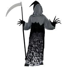 Childs Dark Shadow Creeper Halloween Fancy Dress Costume 8 - 16 Years