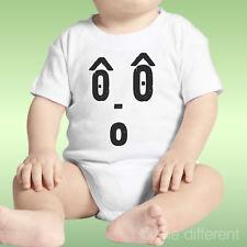 Body Neonato Unisex Faccia Divertente Sorpresa Idea Regalo