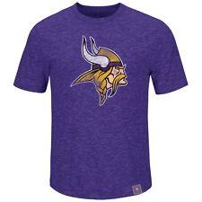 NFL Football t-shirt Minnesota vikings Logo hyper slub de Majestic