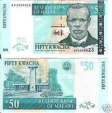Malawi 50 Kwacha 2005 P-45c Uncirculated