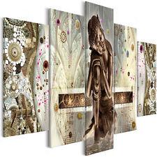 Wandbilder xxl Buddha Klimt Inspiration Abstrakt Leinwand Bilder p-A-0027-b-m