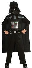 Star Wars Darth Vader Child Costume Mask Printed Jumpsuit Halloween Fancy Dress