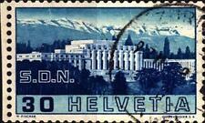 SVIZZERA - 1938 - Palazzo della Società Nazioni e del B.I.T. a Ginevra - 30 c.