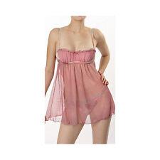 Valentino Pink Net Donna Balconette Babydoll