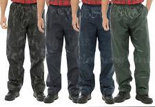 Homme Femme Adultes pluie 100% étanche sur pantalon pantalon vêtements de travail pêche