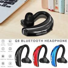 Q8 Wireless Bluetooth Headset Headphones Earphone Handsfree Mic For Driving 12 H
