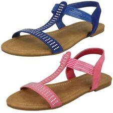 filles Spot On à enfiler décontracté 'Sandales'