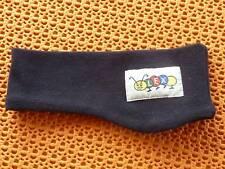 Kinder, Stirnband, Fb. marine, Label LEXI