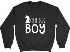 Sudadera para hombre Jersey de niño de ajedrez